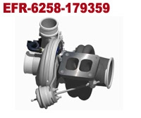 EFR 6258 - 179359, 225 - 400 HP Turbo