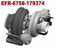 EFR 6758 - 179374, 275 - 450 HP Turbo